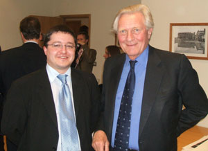 Christian Holliday and Lord Heseltine